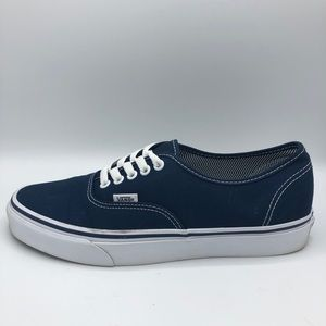 Men's Vans Authentic Size 9 Angle Stripe Lining